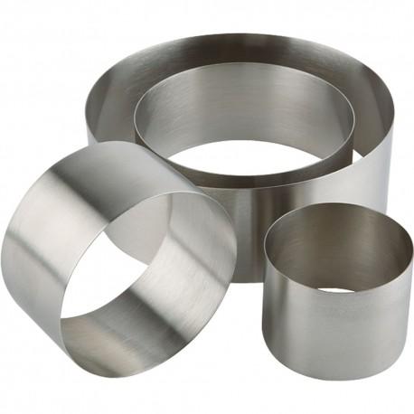 Pierścień cukierniczo-kucharski d 120 mm h 45 mm