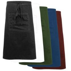 Zapaska midi czarna z kieszonką