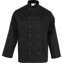 Bluza kucharska, unisex, CHEF, czarna, rozmiar M