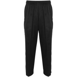 Spodnie kucharskie, unisex, czarne, rozmiar M