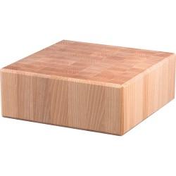 Kloc masarski drewniany 400x400x100 mm