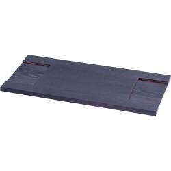 Półka drewniana 500 mm ciemny brąz