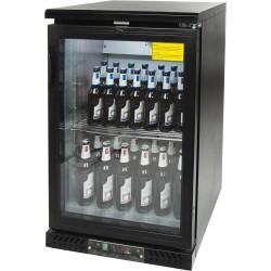 Chłodziarka do butelek 129l drzwi otwierane