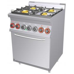 CFM4 - 66 GEM Kuchnia gazowa zpiekarnikiem elektrycznym CFM4 - 66 GEM, RM GASTRO, 00000670