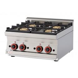 Kuchnia gazowa top PCT - 66 G, RM GASTRO, 00000626