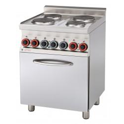 Kuchnia elektryczna zpiek. konw. CFM4 - 66 ET, RM GASTRO, 00000667