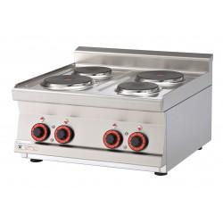 Kuchnia elektryczna top PCT - 66 ET, RM GASTRO, 00000577