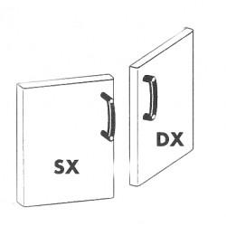 Drzwi 400 lewe P - 74/94 SX, RM GASTRO, 00000852