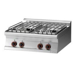 Kuchnia gazowa PCT - 78 G/P, RM GASTRO, 00001185