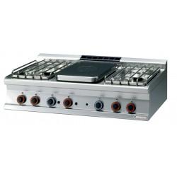Kuchnia żeliwna gazowa TP4T - 712 G/P, RM GASTRO, 00001192