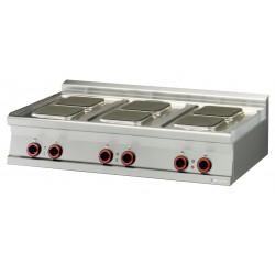 Kuchnia elektryczna PCQT - 712 ET, , 00001158