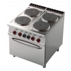 CF4 - 98 ET Kuchnia elektryczna zpiekarnikiem CF4 - 98 ET, RM GASTRO, 00001023