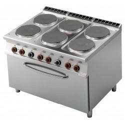 CF6 - 912 ET Kuchnia elektryczna zpiekarnikiem CF6 - 912 ET, RM GASTRO, 00001029