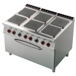 CFQ6 - 912 ET Kuchnia elektryczna zpiekarnikiem CFQ6 - 912 ET, RM GASTRO, 00001030