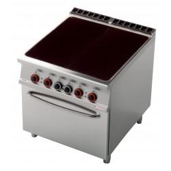 Kuchnia elektr. ceramiczna zpiek. CFC4 - 98 ET, RM GASTRO, 00001025
