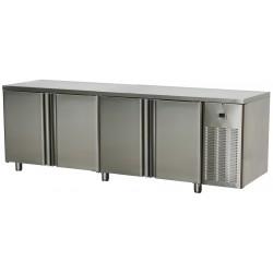 SCH - 4D/Z Stół chłodniczy czterodrzwiowy ze zlewem SCH - 4D/Z, RM GASTRO, 00008720