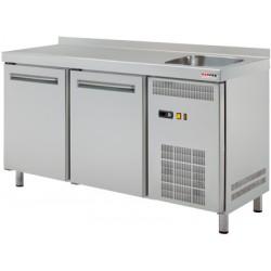 RT 2DS Stół chłodniczy dwudrzwiowy ze zlewem RT 2DS, REDFOX, 00001409