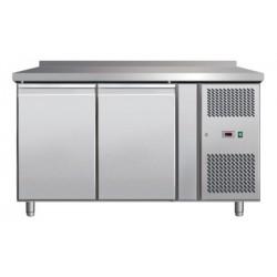 CFT 2D Stół mroźniczy - 2 drzwi - blat z rantem CFT 2D, REDFOX, 00016388