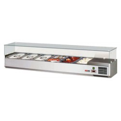 VCH 3180 Witryna chłodnicza GN 1/3 VCH 3180, REDFOX, 00010995