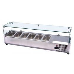 VCH 4160 Nadstawka chłodnicza GN 1/4 VCH 4160, REDFOX, 00016401