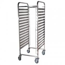 Wózek na pojemniki GN TRL - 14 GN, REDFOX, 00011083