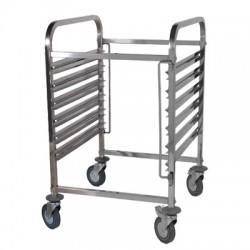 Wózek na pojemniki GN TRL - 6 GN, REDFOX, 00011084