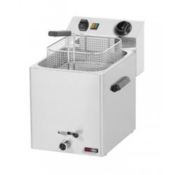 FE - 07 V Frytownica elektryczna 8 l z kranem FE - 07 V, REDFOX, 00000225