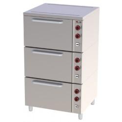 Piekarnik elektryczny 3x GN 2/1 EPP - 03 S, , 00020384