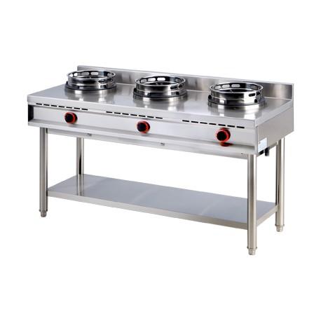 K - 3 G Kuchnia wok K - 3 G, REDFOX, 00007353