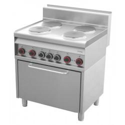 CF4 - 8 ET Kuchnia elektryczna z piekarnikiem elektr. CF4 - 8 ET, REDFOX, 00000797