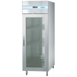 Szafa mroźnicza 410L z drzwiami szklanymi (centralne chłodzenie)
