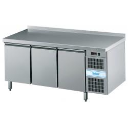 Stół mroźniczy 3-drzwiowy GN 1/1 (centralne chłodzenie/bez blatu)