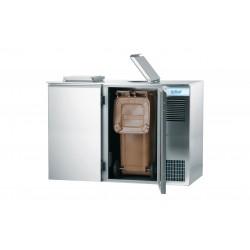 Schładzarka odpadów 2x240L