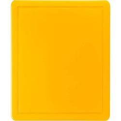 Deska do krojenia 600x400x18 mm żółta