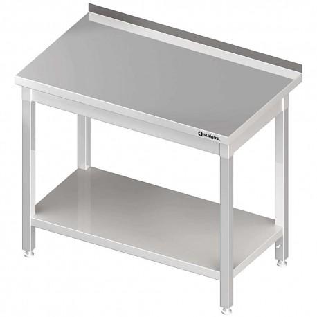Stół przyścienny z półką 1200x600x850 mm spawany