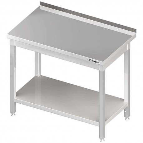 Stół przyścienny z półką 1400x600x850 mm spawany