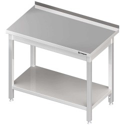 Stół przyścienny z półką 1400x700x850 mm spawany