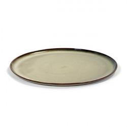 TERRES DE REVESR misty grey talerz L 26cm 4/16