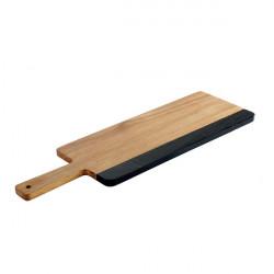 AKACJA deska drewniana z rączką 42x18cm