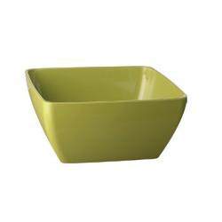 PURE miska kwadratowa  3.8 litra zielona