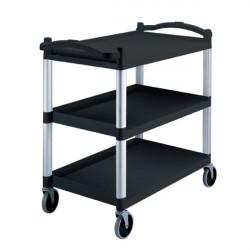 CAMBRO Wózek pomocniczy max 180kg czarny