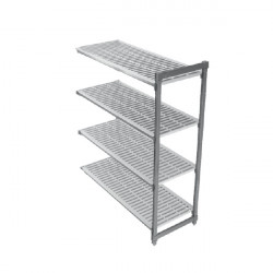 CAMBRO BASIC regał dodatkowy 4 półki 46x138x183cm