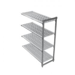 CAMBRO BASIC regał dodatkowy 4 półki 46x153x183cm