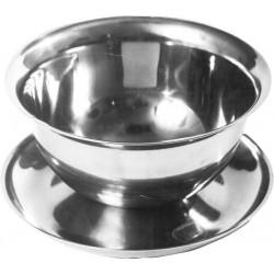 Bulionówka stalowa z podstawką -  0,35 l