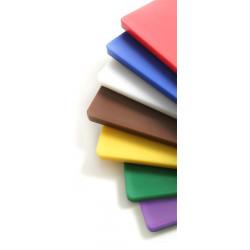 Deska do krojenia HACCP  600x400 biała do nabiału
