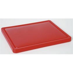 deska do krojenia HACCP - GN 1/2 czerwona