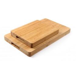 Deska drewniana Bamboo okrągła 400