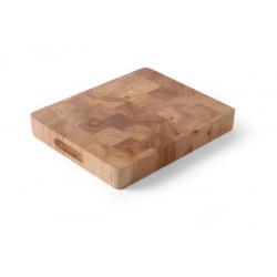 Deska drewniana GN 1/1 - 530x325x45 mm