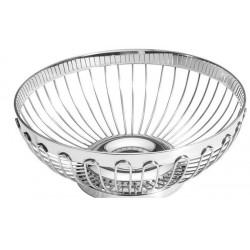 Koszyk do pieczywa i owoców - okrągły, stalowy 1