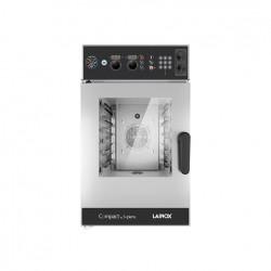 Piec konwekcyjno-parowy COMPACT by Sapiens, elektryczny z bezpośrednim natryskiem 6x GN 2/3